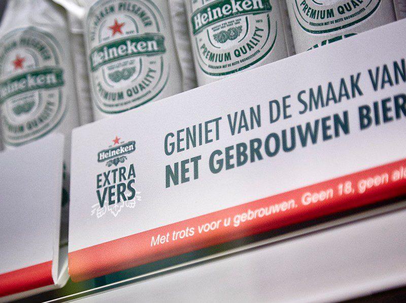 Introductie Heineken Extra Vers